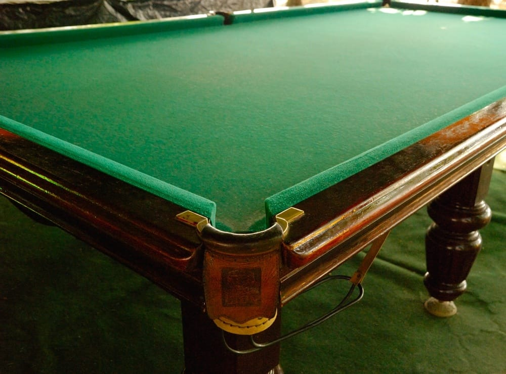 Cleaning a Billiards Table