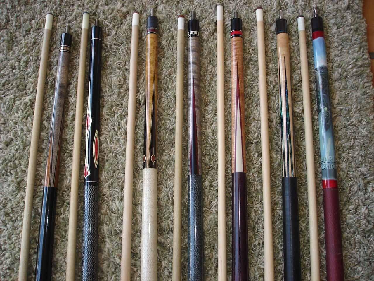 harley davidson cue sticks