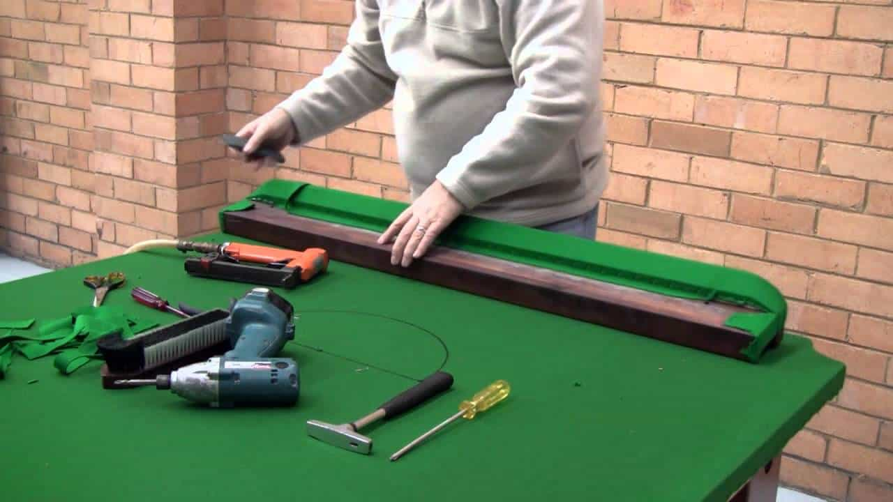 replacing pool table cushions