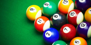 how to clean brunswick centennial pool balls